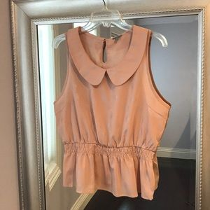 Euc charlotte Reuse sleeveless top XL